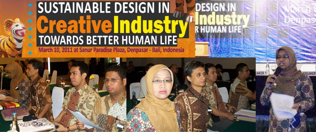 4 Dosen Universitas Esa Unggul Memberikan Seminar dalam International Conference on Creative Industry 2011