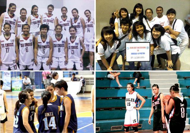 Selamat! Tim Basket Ball Putri Universitas Esa Unggul Meraih Final Four Liga Basket Mahasiswa Nasional