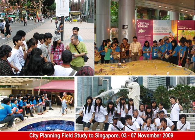 Planologi, Field Study to Singapore
