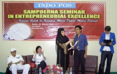 Sampoerna Seminar in Entrepreneurial Excellence