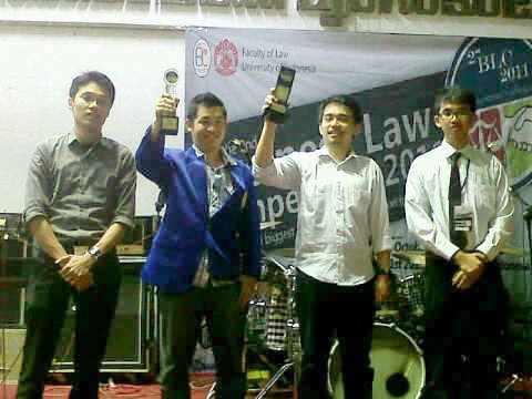 Selamat atas prestasi Mahasiswa FH UEU, Juara 3 the 2nd Business Law Competition 2011
