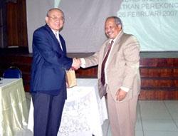 Kerjasama FE UIEU dengan Balai Besar Pendidikan dan Pelatihan Ekspor Indonesia (PPEI)