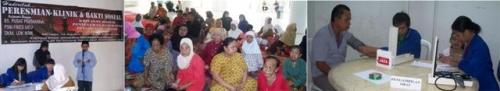 Bakti Sosial & Peresmian Klinik