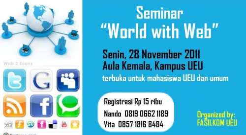 Seminar Fasilkom: World with Web