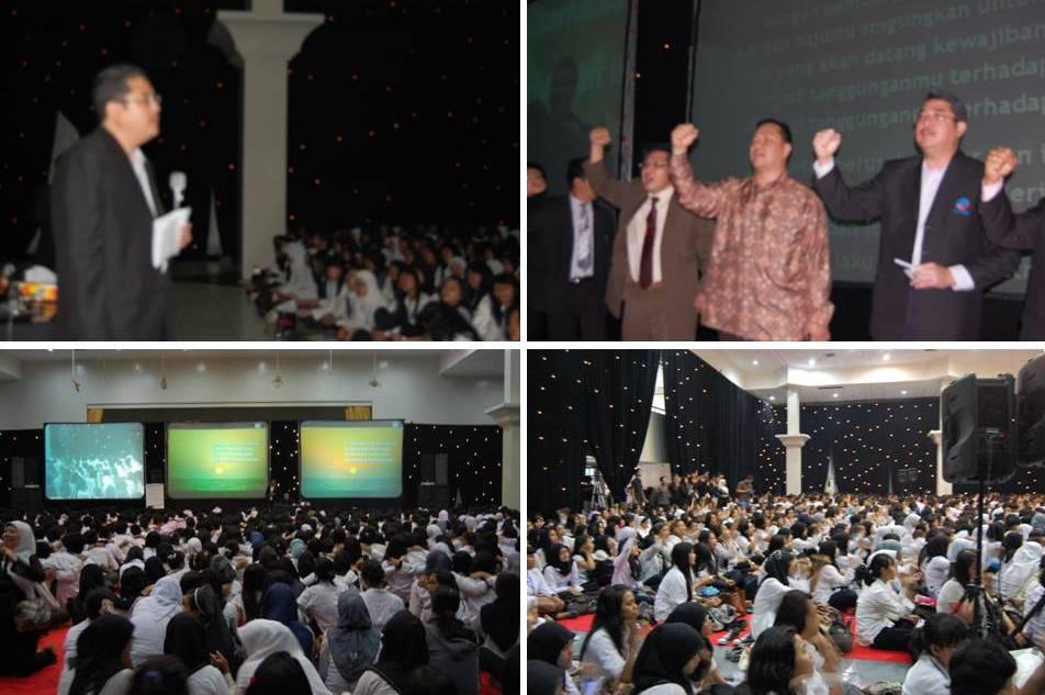 Training ESQ Mahasiswa Baru Program Reguler Tahun 2012 Universitas Esa Unggul
