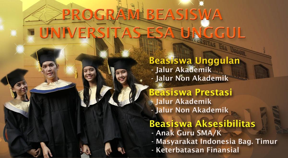 Program Beasiswa Universitas Esa Unggul  Tahun 2013