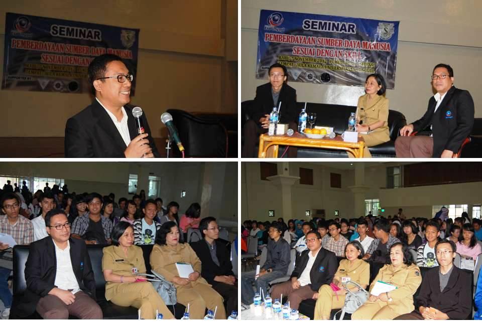 Seminar Pemberdayaan SDM Sesuai dengan Skill –  Fakultas Ekonomi Universitas Esa Unggul