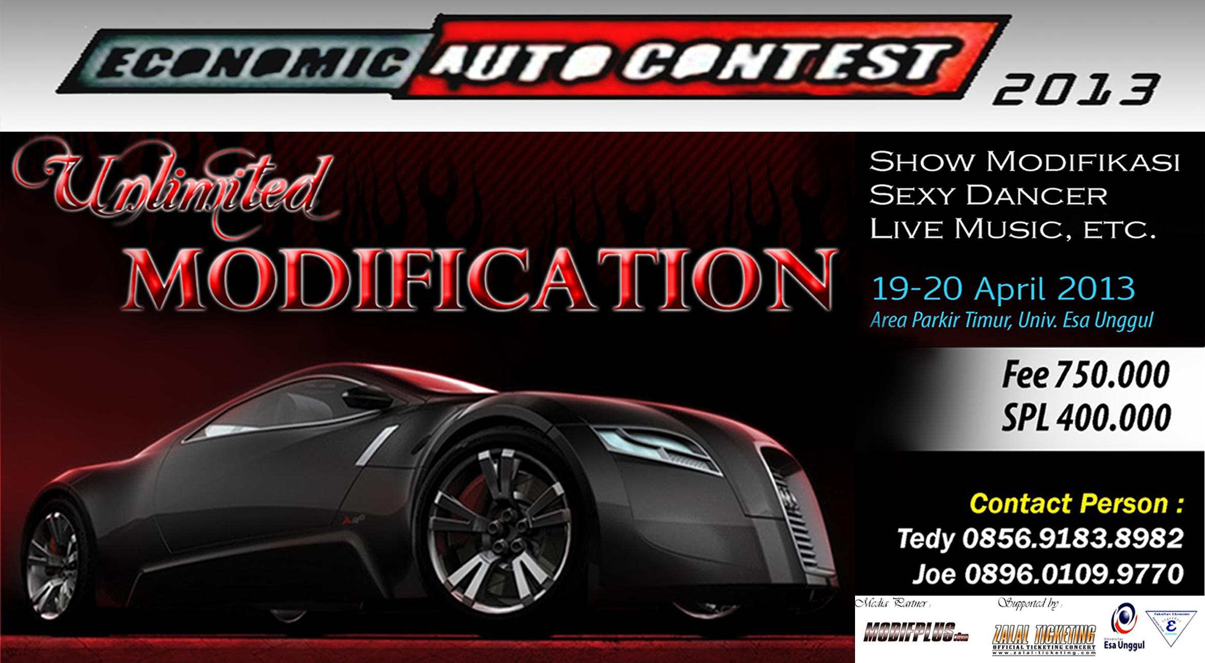 Semarak Economic Auto Contest 2013 – Unlimited Modification