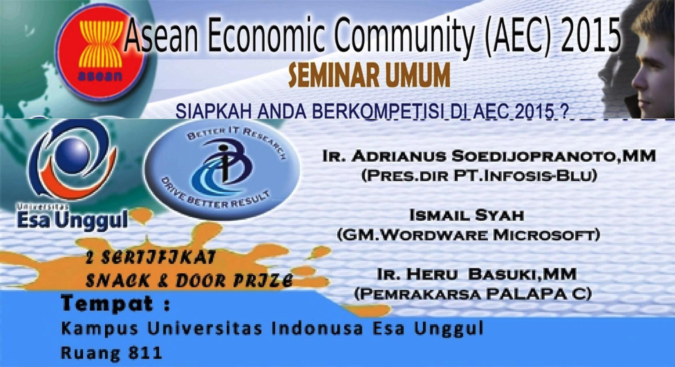 Seminar Asean Community (AEC) 2015