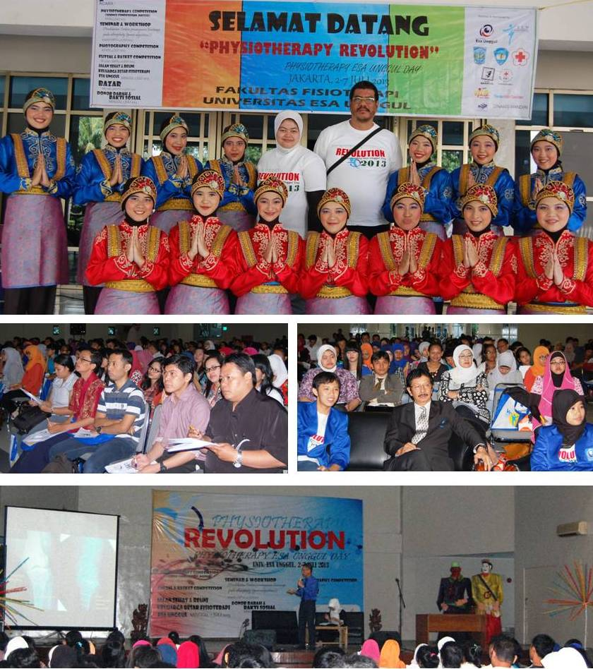 Physiotherapy Revolution 2013: Seminar, Workshop, Gathering, Competition