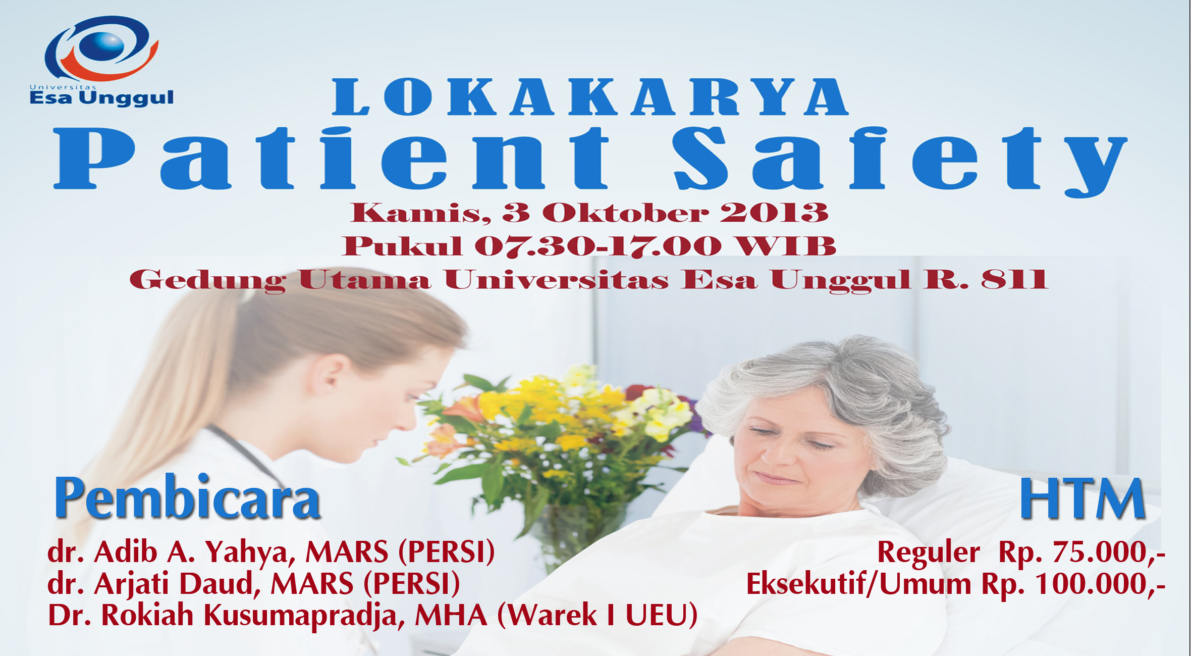 Lokakarya Patient Safety