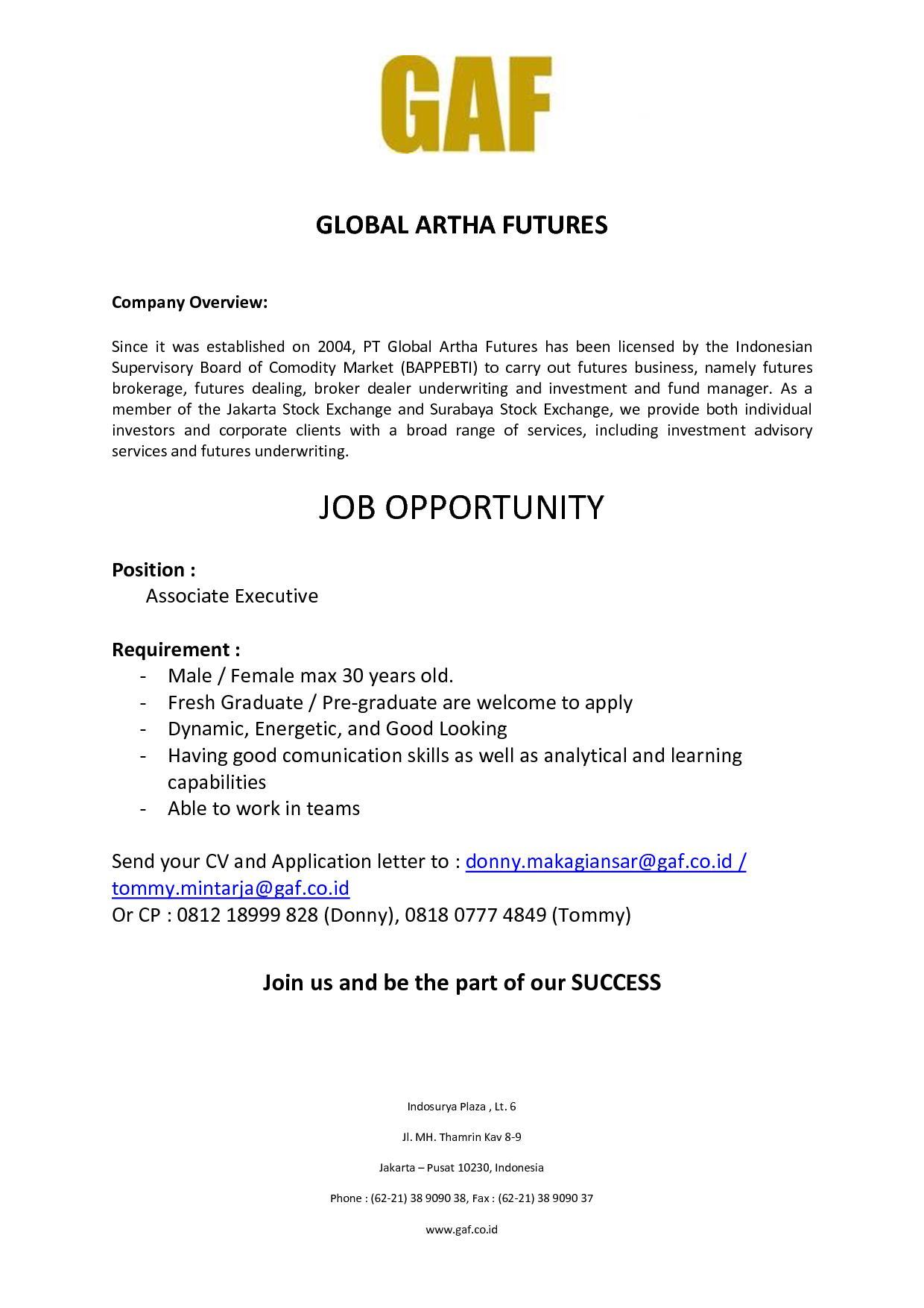 Global Artha Futures