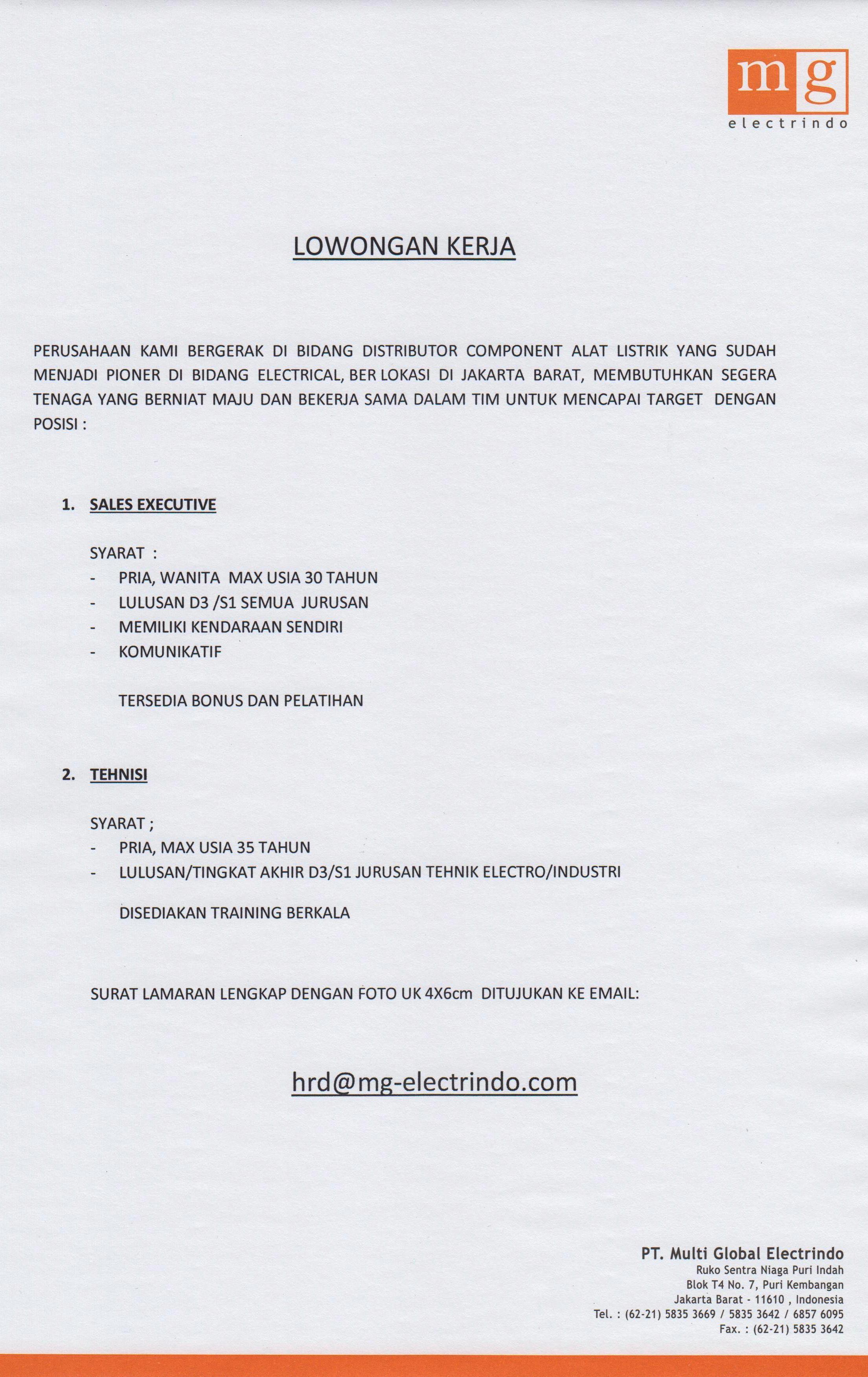 PT. Multi Global Electrindo