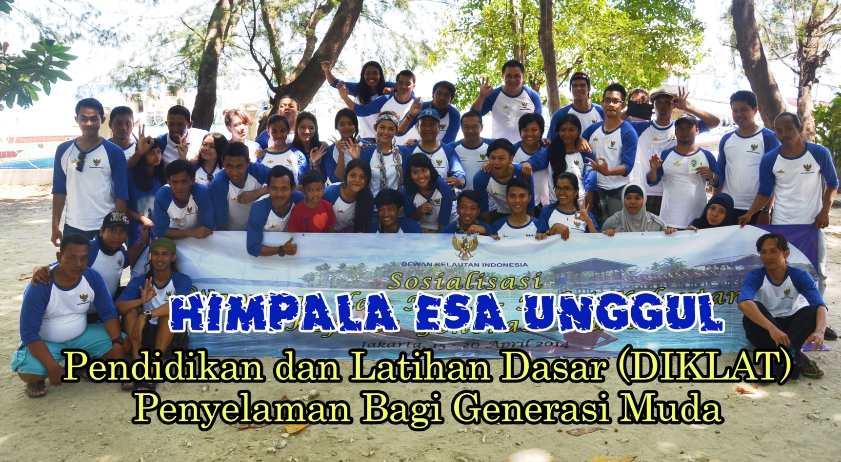 HIMPALA Universitas Esa Unggul mengikuti Pendidikan dan Latihan Dasar (DIKLAT) penyelaman bagi generasi muda yang diselenggarakan oleh Dewan Kelautan Indonesia