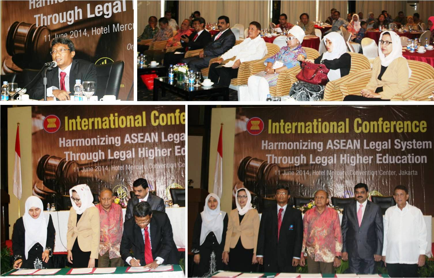 International Conference: Harmonizing ASEAN Legal System through Legal Higher Education