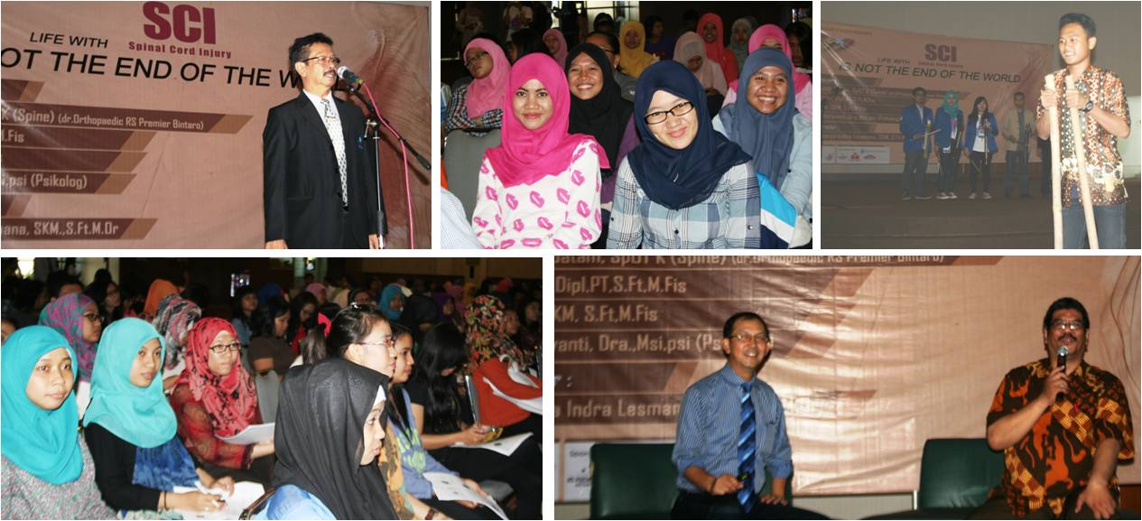 Seminar Physiotherapy: Life with Spinal Cord Injury, Is Not the End of the World