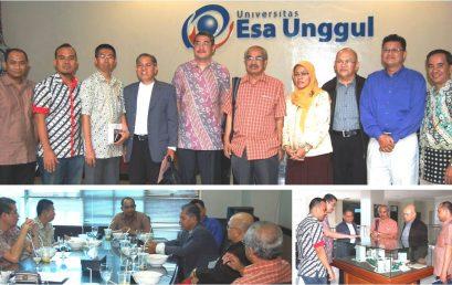 Kunjungan Kerjasama Universiti Kuala Lumpur ke Universitas Esa Unggul