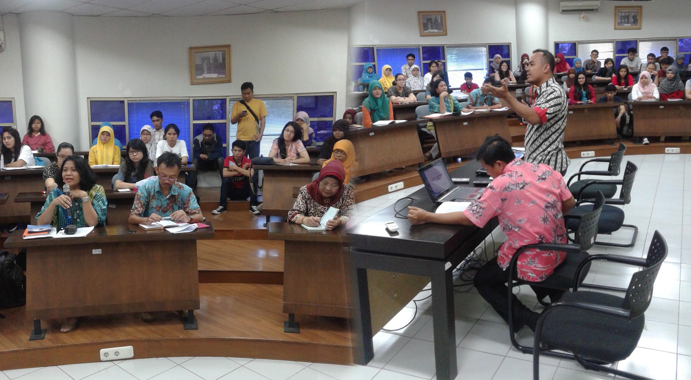Sosialisasi Program Kreatifitas Mahasiswa (PKM) 5 Bidang – DIKTI 2014
