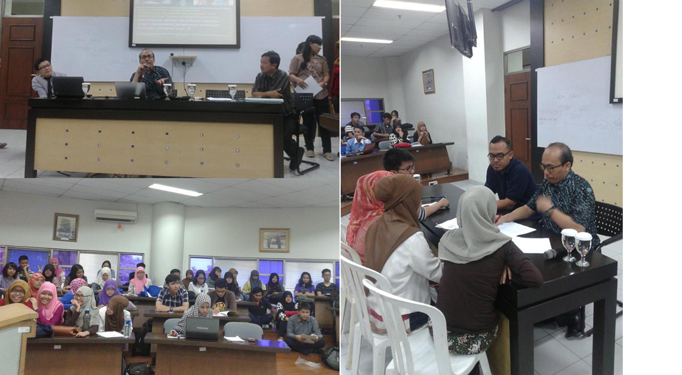 "Universitas Esa Unggul menyelenggarakan ""Coaching Clinic"" bersama Prof. Jamasri bagi Mahasiswa Peserta PKM DIKTI 2014"