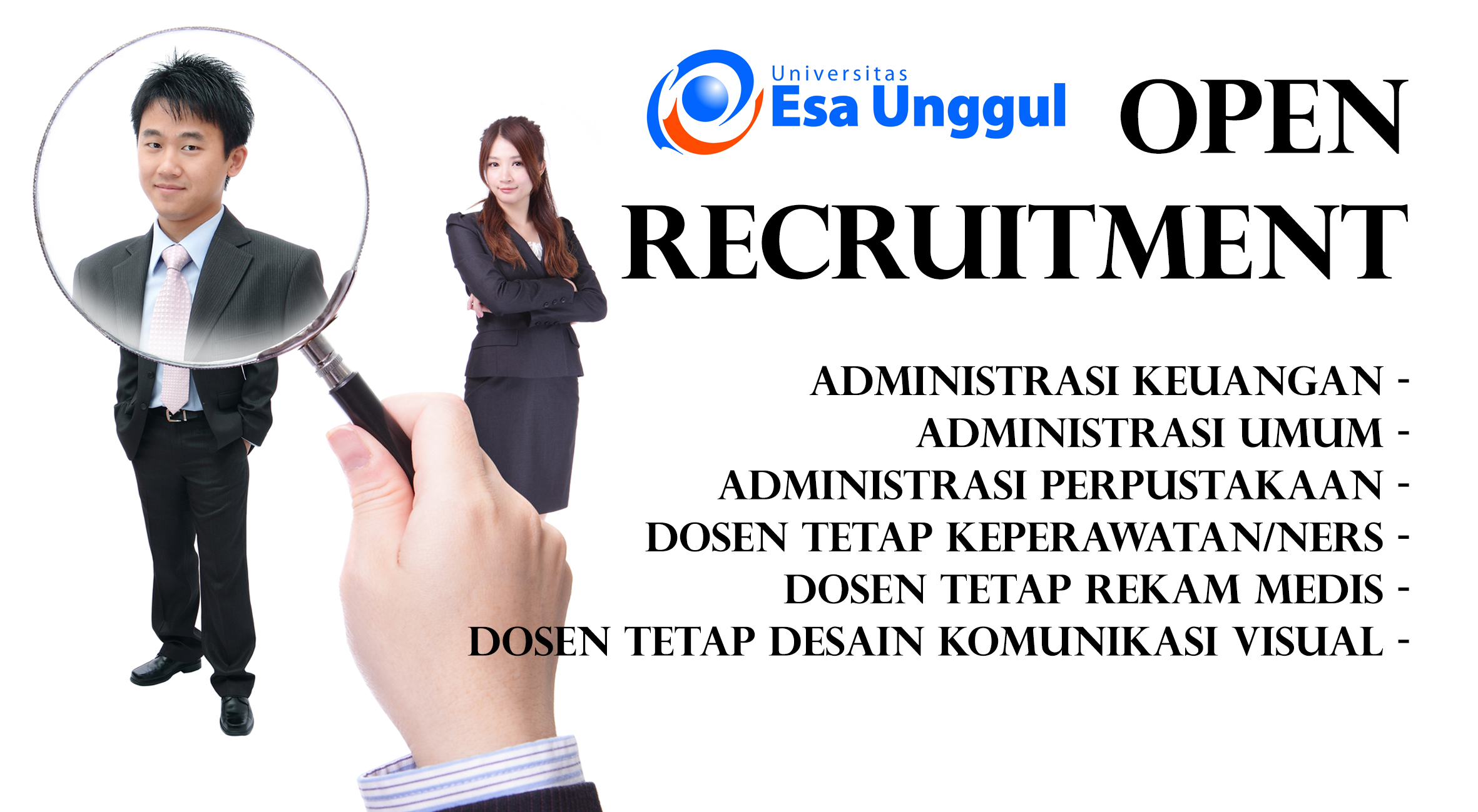 Universitas Esa Unggul Open Recruitment