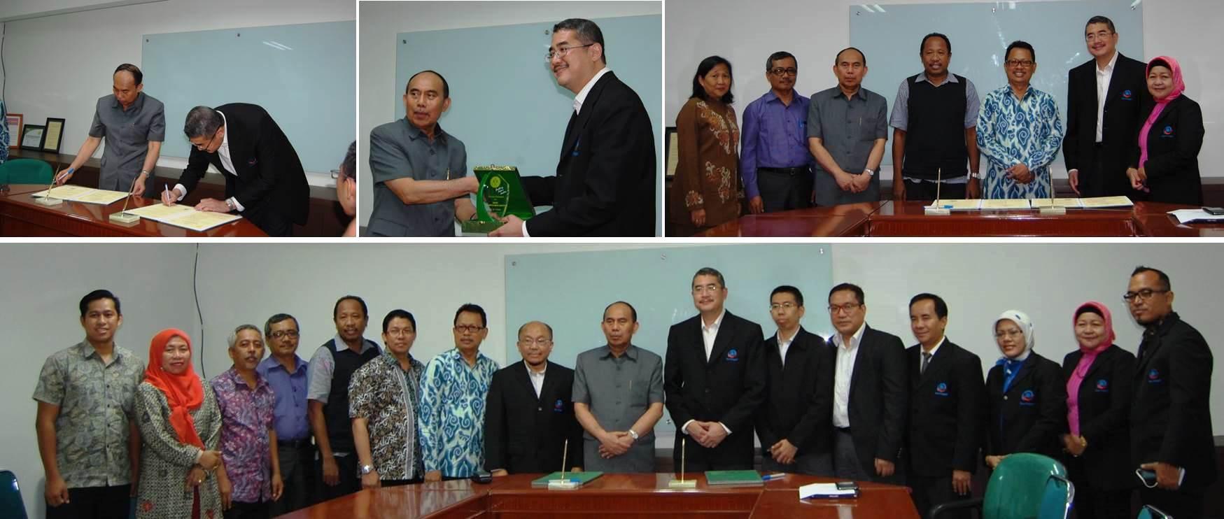 Penandatanganan Kerjasama Pendidikan dan Penelitian Antara Universitas Esa Unggul dan Universitas Negeri Jakarta