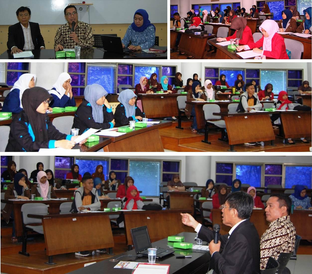 Seminar Motivasi Berprestasi dan Workshop Penyusunan Proposal Bisnis bagi Siswa SLTA