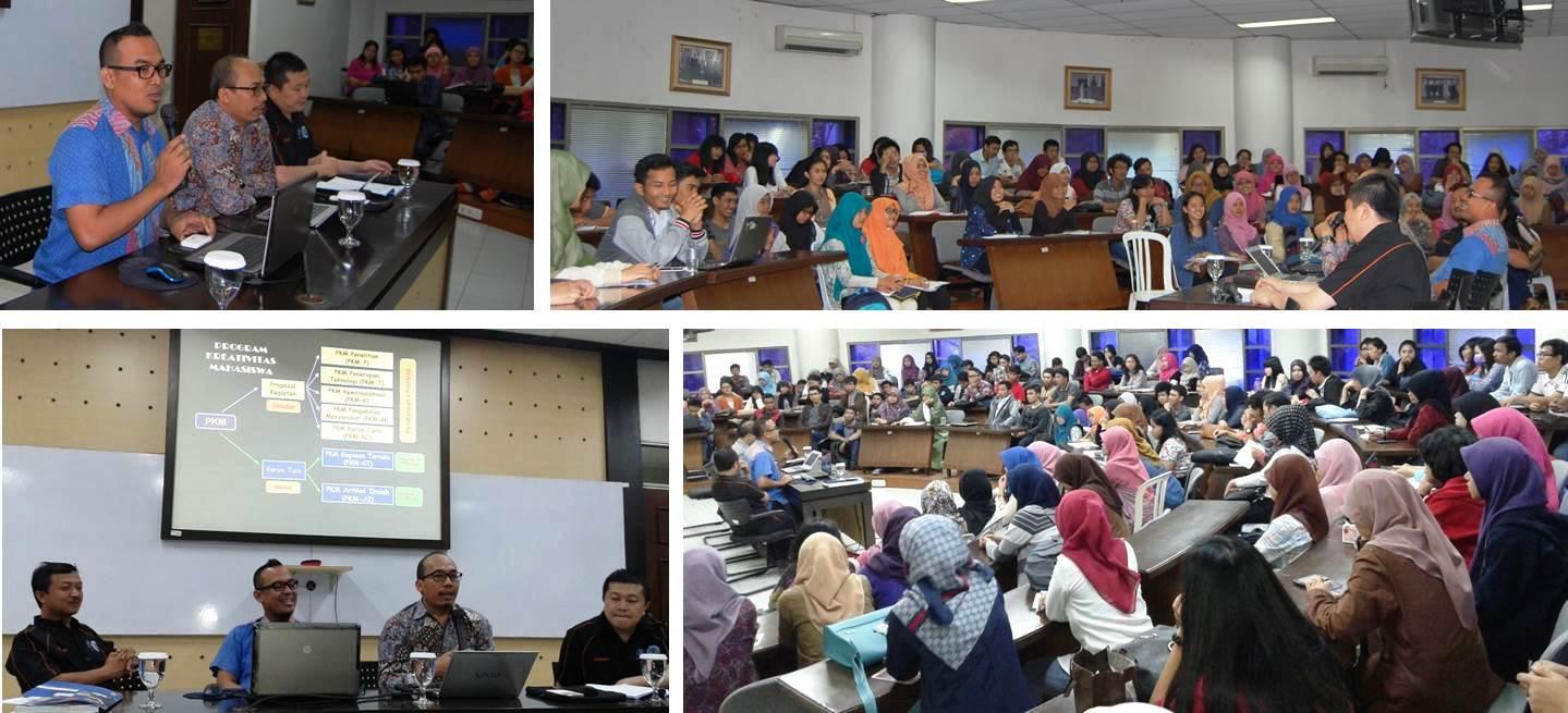 Sosialisasi dan Workshop Program Kreativitas Mahasiswa – Artikel Ilmiah (AI) dan Gagasan Tertulis (GT)
