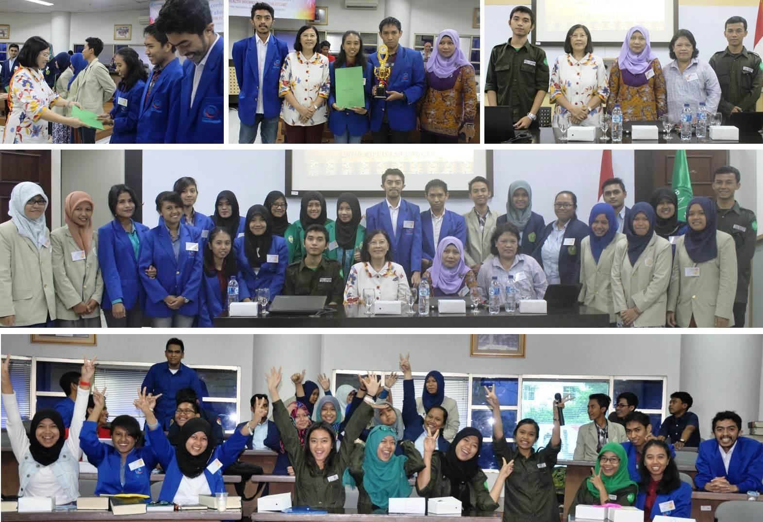 "Selamat Tim Universitas Esa Unggul Juara 1 Tingkat Nasional Lomba Koding Penyakit ""Health Information in the Future"""