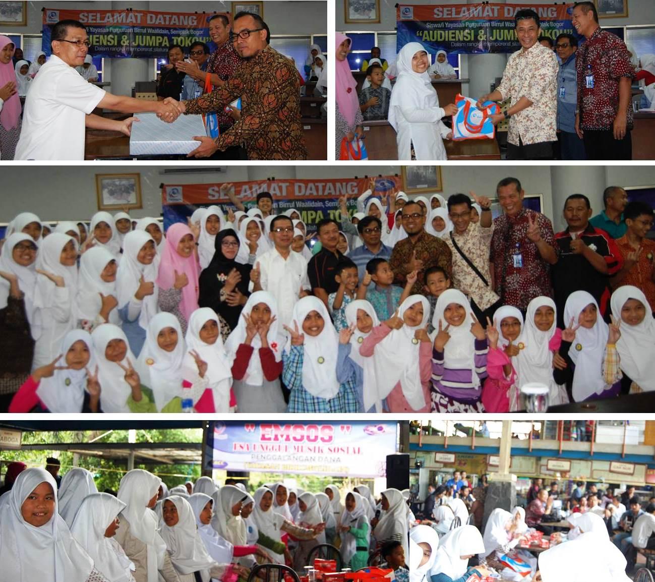Jumpa Tokoh Dan Kegiatan Sosial Universitas Esa Unggul Dengan Yayasan Birrul Walaidain Bogor