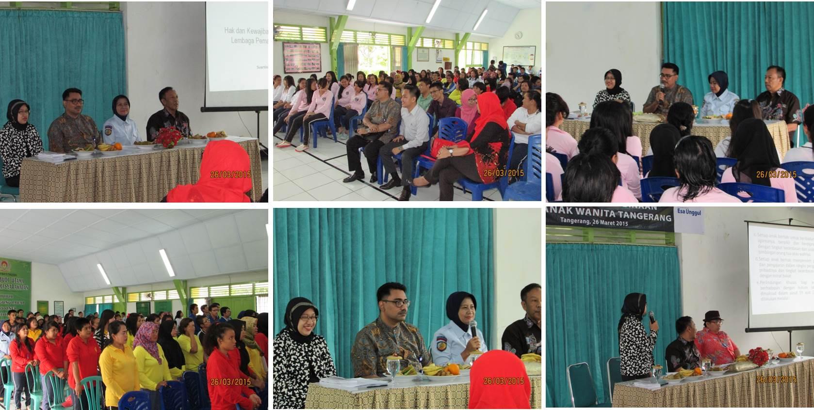 Penyuluhan Hukum LKBH Esa Unggul, Fakultas Hukum dan Psikologi di Lapas Wanita dan Anak Wanita, Tangerang