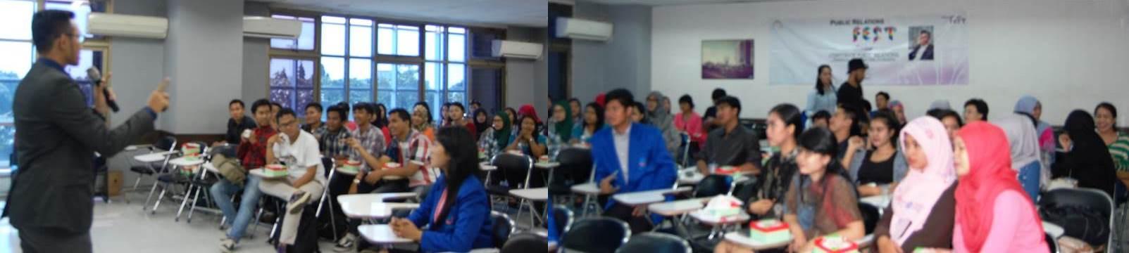 Seminar Corporate Public Relation, Fakultas Ilmu Komunikasi Universitas Esa Unggul