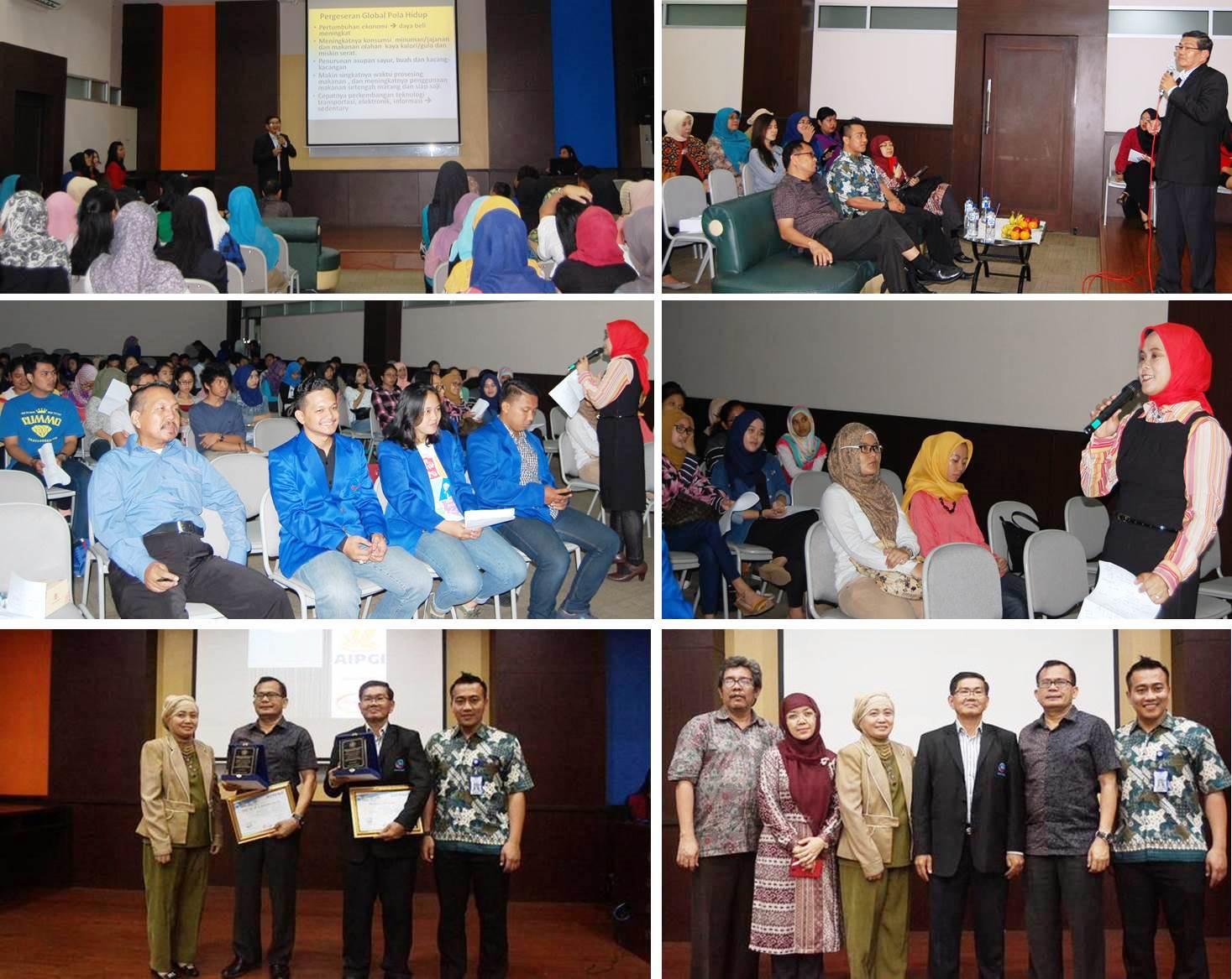 Seminar dan Workshop Keamanan Pangan dan Gizi Seimbang Program Studi Ilmu Gizi, Fakultas Ilmu Kesehatan