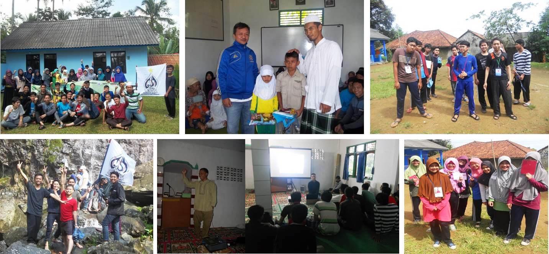 Lembaga Dakwah Islami Melakukan Studi Wisata Islam Terpadu (SWITER) 2015 di Kp. Lemah Duhur, Gunung Bunder, Bogor