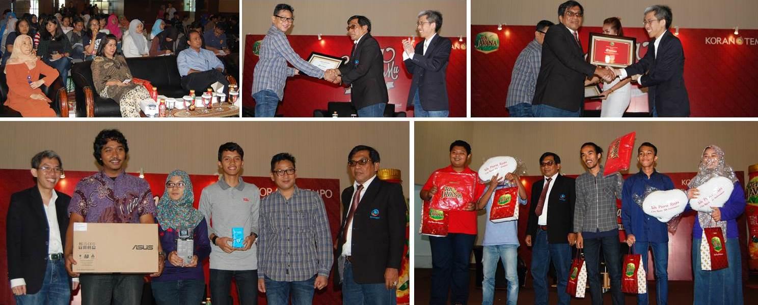 Mana IndonesiaMu, Workshop Jurnalistik Series, Universitas Esa Unggul – Tempo Media Group – Teh Javana Wings Food