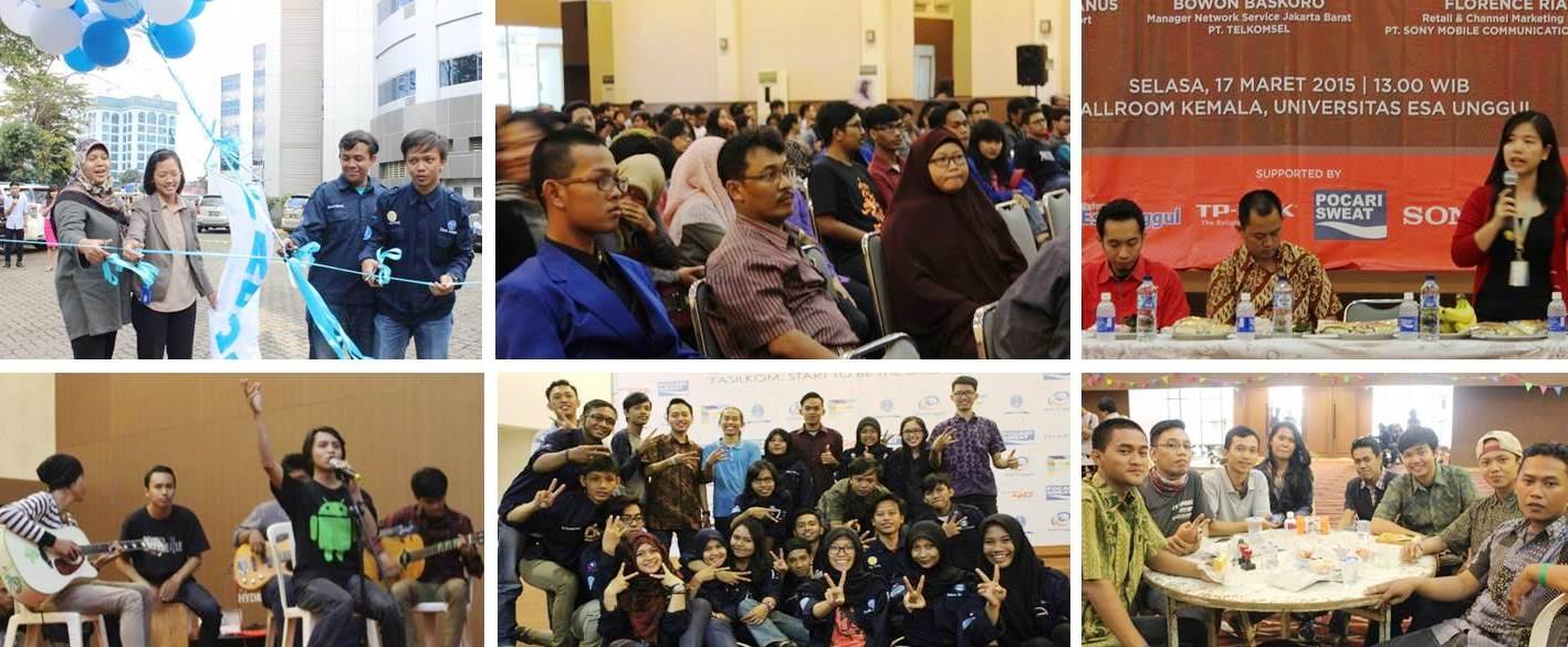 "FASILKOM DAYS Ulang Tahun Fakultas Ilmu Komputer 2005 – 2015 ""Start to Be Brightest Star"""