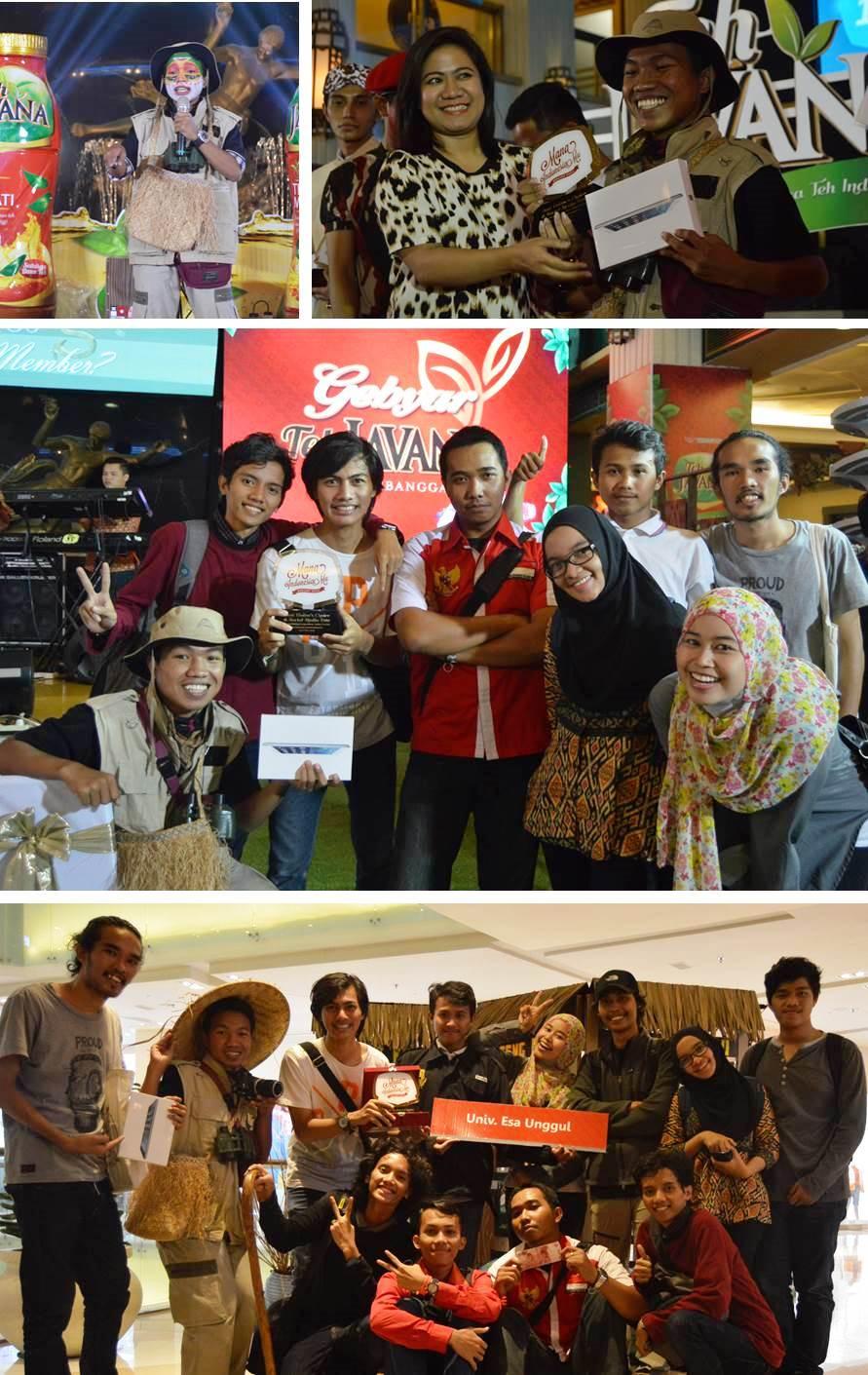 Tim Mahasiswa FIKOM Universitas Esa Unggul Menang Kategori Best Visitor's Choice and Social Media Voting dan Runner Up Best Content Lomba Mading Jurnalistik Mana IndonesiaMu 2015