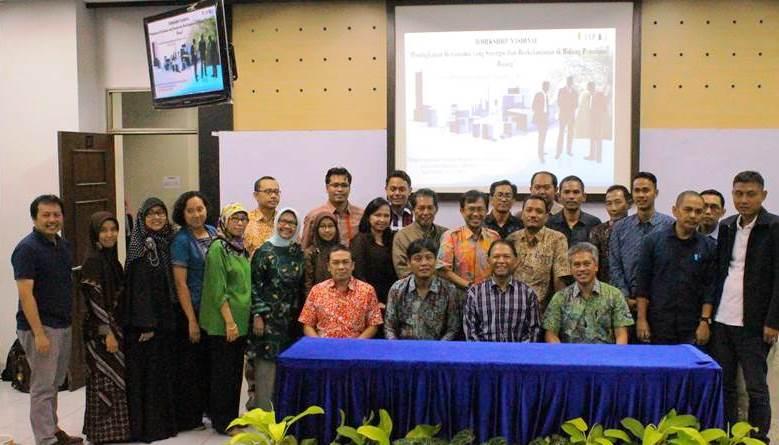 Program Studi Perencanaan Wilayah dan Kota Universitas Esa Unggul Menyelenggarakan Workshop Nasional Peningkatan Kerjasama Yang Sinergis dan Berkelanjutan Di Bidang Penataan Ruang, Juni 2015