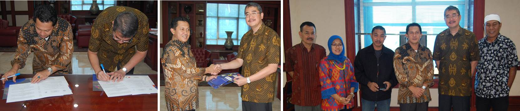 Penandatangan Kerjasama Universitas Esa Unggul Dengan Universitas Khairun, Ternate