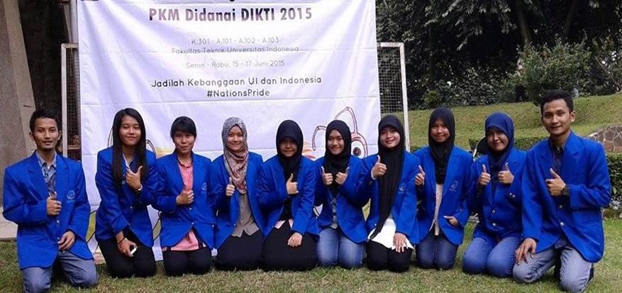 Selamat Atas Keberhasilan 1 Team PKM Bidang Kewirausahaan Tahun 2014 Anggaran Pendanaan 2015 Lolos Ke Pekan Ilmiah Mahasiswa Nasional (PIMNAS) Ke-28 di Universitas Halu Uleo Kendari