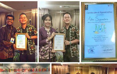 Mahasiswa Fakultas Hukum, Aden Sugiantoro – The Winner of Act-of-Random-Kindness (ARK) Project and The Winner of The Most Photogenic Delegate at The Third Asia Pacific Student Forum 2015