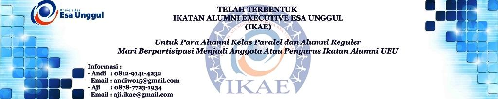 Mari Partisipasi Dalam Ikatan Alumni Executive Esa Unggul