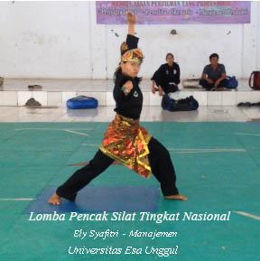 Ely Syafitri Mahasiswa Manajemen Universitas Esa Unggul Masuk Babak Kualifikasi/Pra PON XIX Tahun 2015