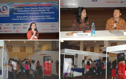 Kemeriahan Esa Unggul Career Day dan Job Fair 2015