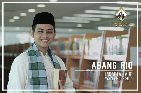 Dukung Rio Mahasiswa Universitas Esa Unggul di Abang None DKI Jakarta 2015