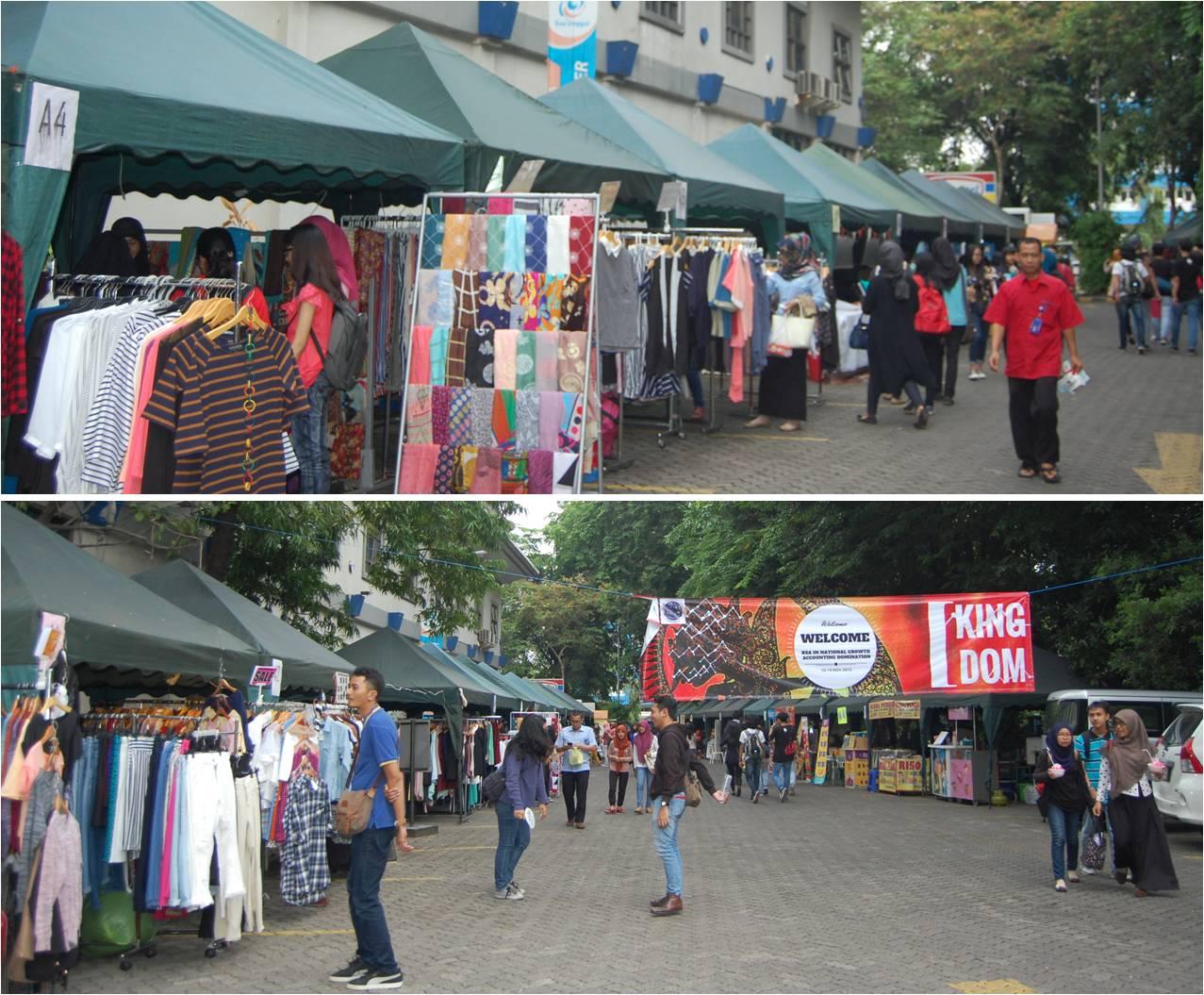 Bazaar Kelompok Studi Akuntansi Universitas Esa Unggul