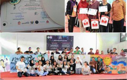 """Fakultas Desain Industri Kreatif Universitas Esa Unggul Juara Favorit """"Mural Art Competition"""""""
