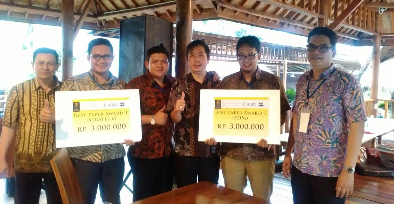 Selamat Atas Kemenangan Tim Delegasi Magister Manajemen dalam Acara Seminar Nasional Manajemen di Universitas Indonesia