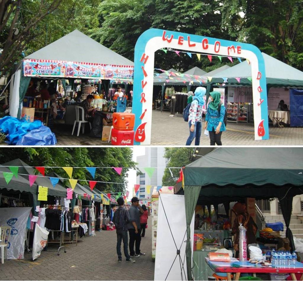 Bazaar Peringatan Hari AIDS Sedunia
