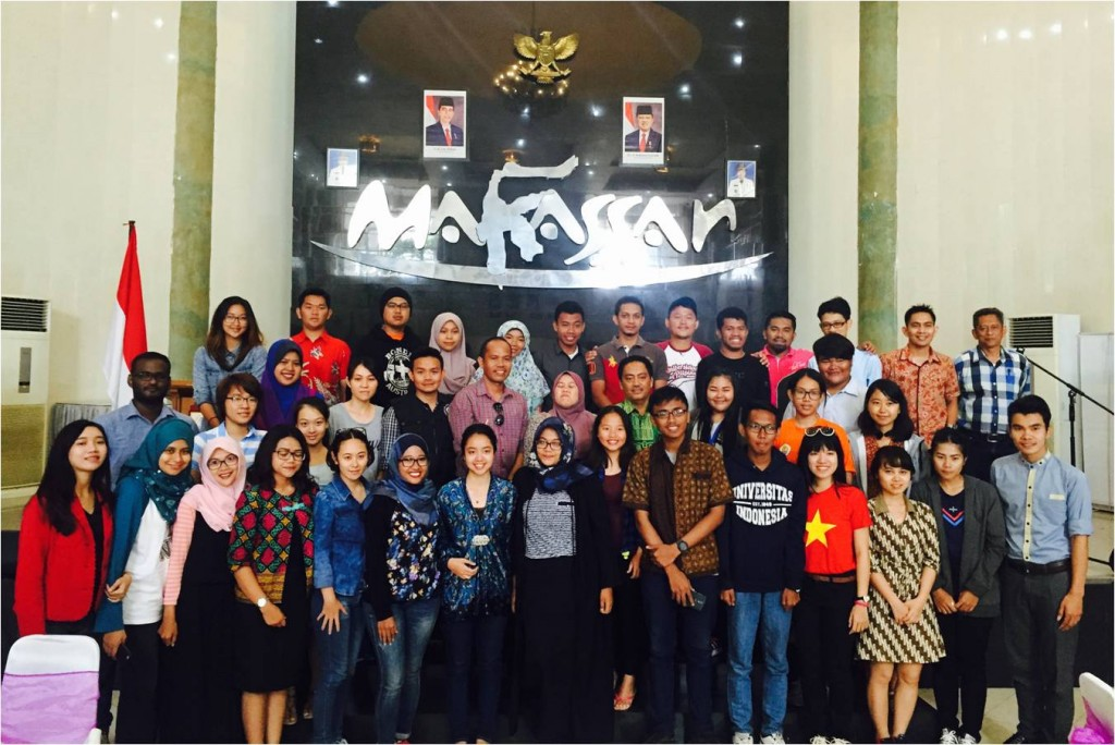 International Maritime Youth Program 2015 (IMYP 2015) organized by West Sulawesi University