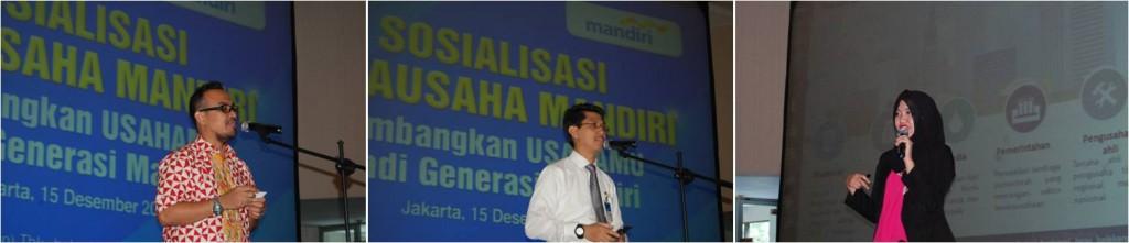Pembicara di Acara Sosialisasi Wirausaha Mandiri